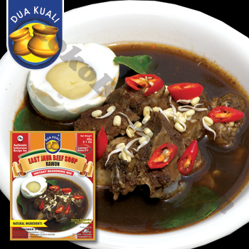 Black Beef Soup (East-Java Style)